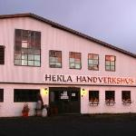In Hella, once a slaughterhouse, now a centre for hand craft