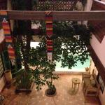 Courtyard and plunge pool