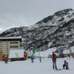 The hotel from nursery slopes