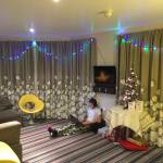 Christmas in a reef appartment in the wave hotel