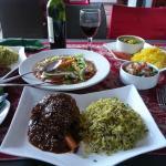 lamb and rice! AMAZING