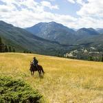 High Meadows, le Yellowstone au loin