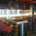 la partie Bar à vins