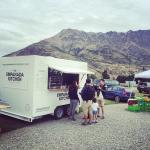 At the Remarkables Market