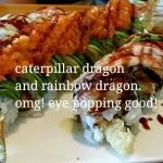 Caterpillar dragon and rainbow dragon, omg! So good!