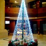 Christmas tree at lobby