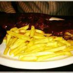 Carne con barbacoa