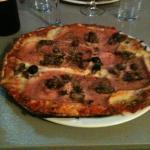 Pizza Reina... Cotto e funghi