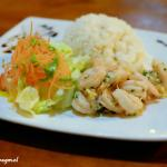 Camarones al ajillo (shrimps with garlic). Very tasty… recommended!