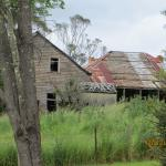 Old schoolhouse on walk