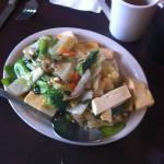 Tofu & Mixed Veggies