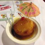 Deep fried ice cream!