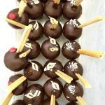 Schoko-Küsschen mit verschiedenen EisSorten