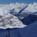 Vue depuis la station de ski - La vallée Toy