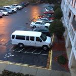 Van Still Parked in Handicap Saturday Morn