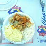 bela refeição: lingua a romana