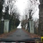 ingresso alla Villa