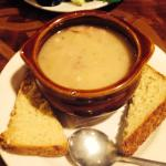 Potato soup - this tasted as good as it looked