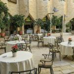 Courtyard, Inbal Jerusalem Hotel, photo by Mike Keenan 44