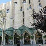 Entrance, Inbal Jerusalem Hotel, photo by Mike Keenan