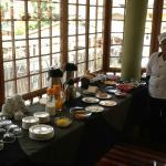 El desayuno al servicio de Claudia.