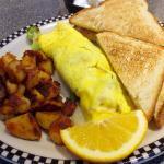 Omelet breakfast special