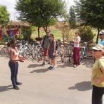 Before bike tour