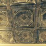 Particolare del soffitto
