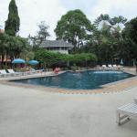 Schöner sauberer Pool