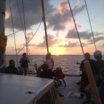 Sunset sail aboard the privateer