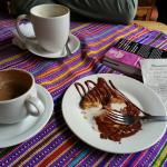 Mochas and a Cronut after our crepes