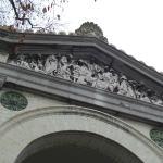 Main entrance timpanon
