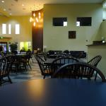 Tiled Flooring of Breakfast Area Means Noise