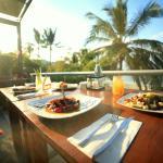 Zen Garden Dining overlooking the sea!