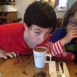 It's official The Plough Serves Great Hot Chocolate.