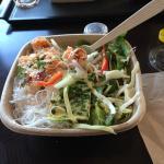 Glass Noodle Bowl with Coconut Shrimp