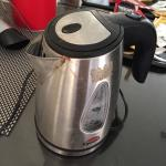 Rusty kettle.
