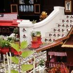 garden of a rumah Melaka