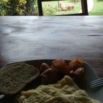heerlijk eten! veggie omelet.