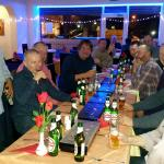 Big party table  on 27 12 2014 on Saturday.