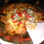 pizza nero di seppia