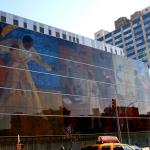 Mural along Malcom X. Blvd.