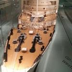 A magnificent model of Queen Mary.