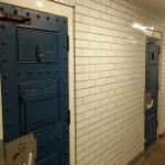 They even turned the old jail cells in to the loos!