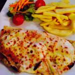 Chicken crepes