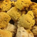 Morning scones