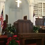 MLK Jr pulpit