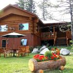 the beautiful Log Home