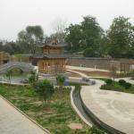 Сад на территории храма