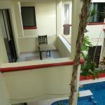 Balcon chambre 5